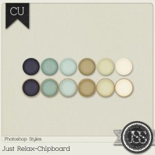 Just Relax Chipboard PS Styles by Just So Scrappy