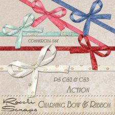 Action - Charming Bow & Ribbon by Rose.li