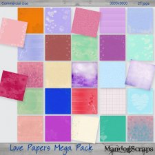 Love Papers Mega Pack