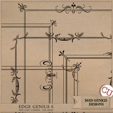 Edge Genius Volume Six by Mad Genius Designs