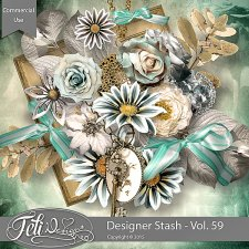 Designer Stash Vol 59 - CU by Feli Designs