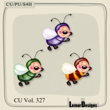 CU Vol 327 Bees 2 by Lemur Designs