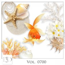 Vol. 0700 Summer Sea Mix by D's Design