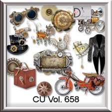 Vol. 658 Steampunk Mix by Doudou Design