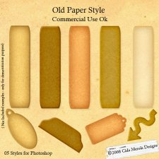 Old Paper Style by Cida Merola