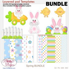 Spring Layered Template BUNDLE