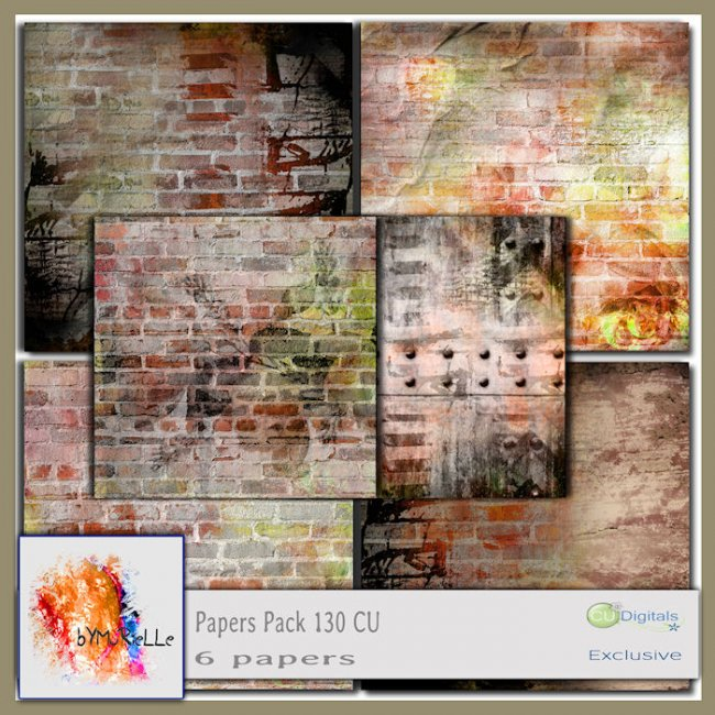 Papers Pack 130 EXCLUSIVE Bymurielle