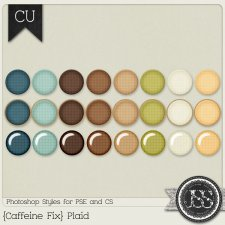 Caffeine Fix Plaid PS Styles by Just So Scrappy