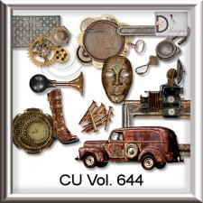 Vol. 644 Steampunk Mix by Doudou Design