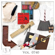 Vol. 0740 School Mix by D's Design