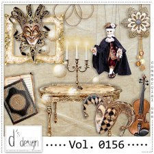 Vol. 0156 Venice Masquerade Mix by Doudou Design