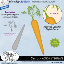 Carrot ACTION by Boop Designs