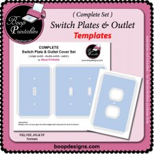 Switches & Outlet COMPLETE Set by Boop Printables