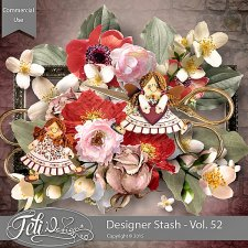 Designer Stash Vol 52 - CU by Feli Designs