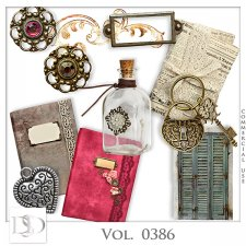 Vol. 0386 Vintage Mix by D's Design