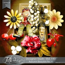 Designer Stash Vol 140 - Autumn Beauties No 4 by Feli Designs