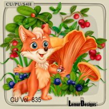 CU Vol 835 Fox by Lemur Designs