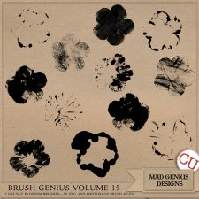 Brush Genius Volume Fifteen by Mad Genius Designs