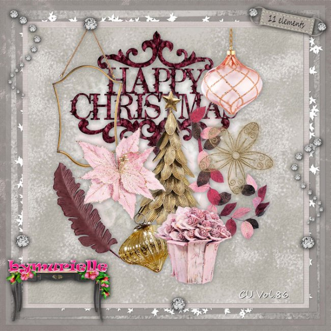 Vol 86 Christmas Elements EXCLUSIVE byMurielle