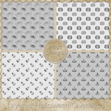 Layered Halloween Overlays 01 by Josy