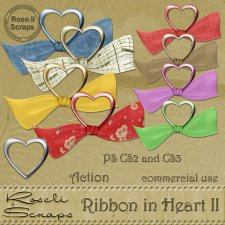 Action - Ribbon In Heart II by Rose.li