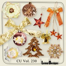 CU Vol 230 Christmas deco by Lemur Designs