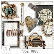 Vol. 0881 to 0885 Steampunk Mix by D's Design
