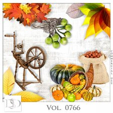 Vol. 0766 Autumn Nature Mix by D's Design
