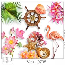 Vol. 0708 to 0713 Tropical Sea Mix by D's Design