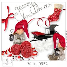 Vol. 0552 Christmas Mix by D's Design