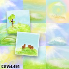 CU Vol 494 Spring Summer Papers by Lemur Designs