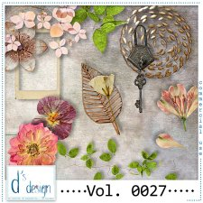 Vol. 0025 to 0027 Vintage Mix by Doudou Design