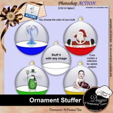 Ornament Stuffer ACTION by Boop Designs