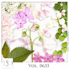 Vol. 0633 Nature Floral Mix by D's Design