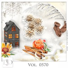 Vol. 0569 to 0573 Winter Mix by D's Design