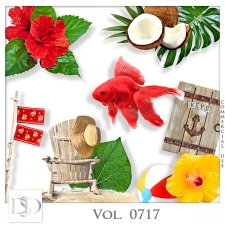 Vol. 0717 Tropical Sea Mix by D's Design