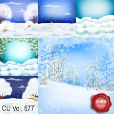 CU Vol 577 Winter Papers by Lemur Designs