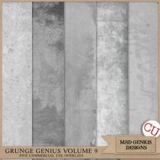 Grunge Genius Volume Nine by Mad Genius Designs