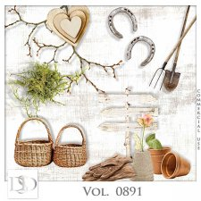 Vol. 0891 Spring Nature Mix by D's Design