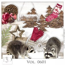 Vol. 0599 to 0601 Winter Mix by D's Design