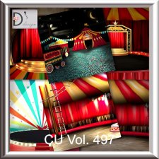 Vol. 497 Circus Papers by Doudou Design