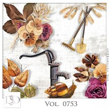 Vol. 0753 Autumn Nature Mix by D's Design