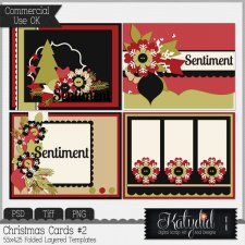 Greeting Cards Layered Templates Pack No 2