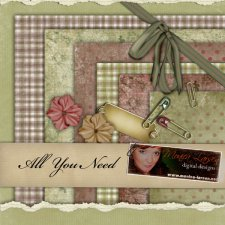 All You Need Designer Mix by Monica Larsen