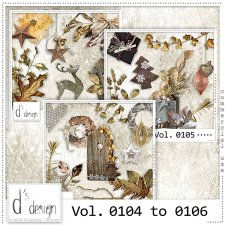 Vol. 0104 to 0106 Christmas Mix by Doudou Design