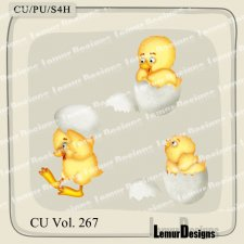 CU Vol 267 Animals Chick 4 by Lemur Designs