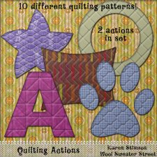 Quilting Actions by Karen Stimson