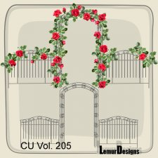 CU Vol 205 garden by Lemur Designs
