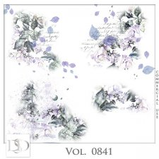 Vol. 0841 Nature Floral Accents by D's Design