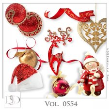Vol. 0554 Christmas Mix by D's Design